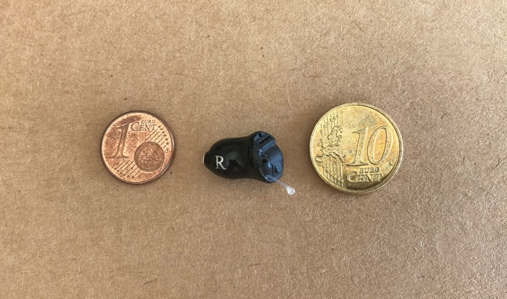 Starkey im Ohr Hörgerät - Unsichtbar klein